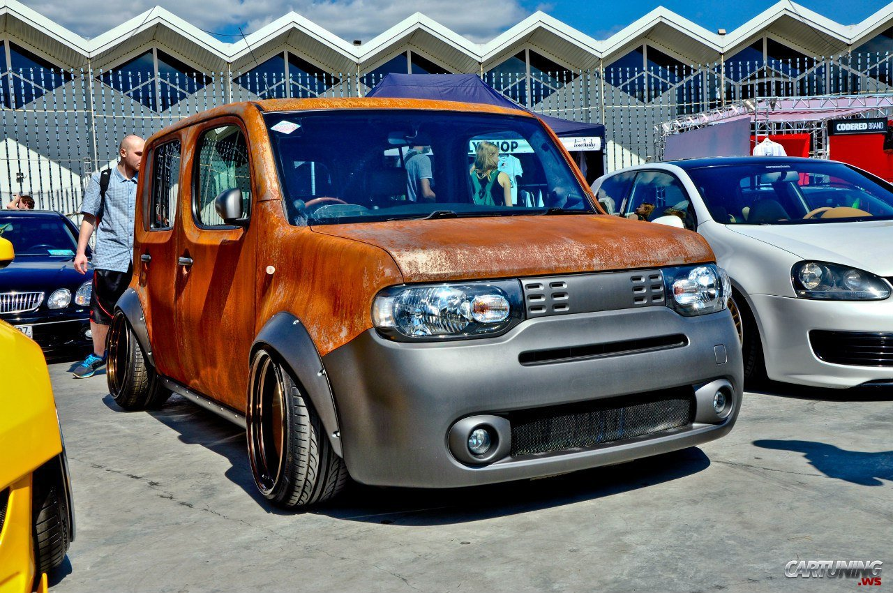 Nissan Cube In Rat Look