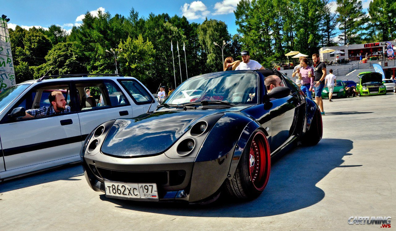 Tuning Smart Roadster 187 Cartuning Best Car Tuning Photos