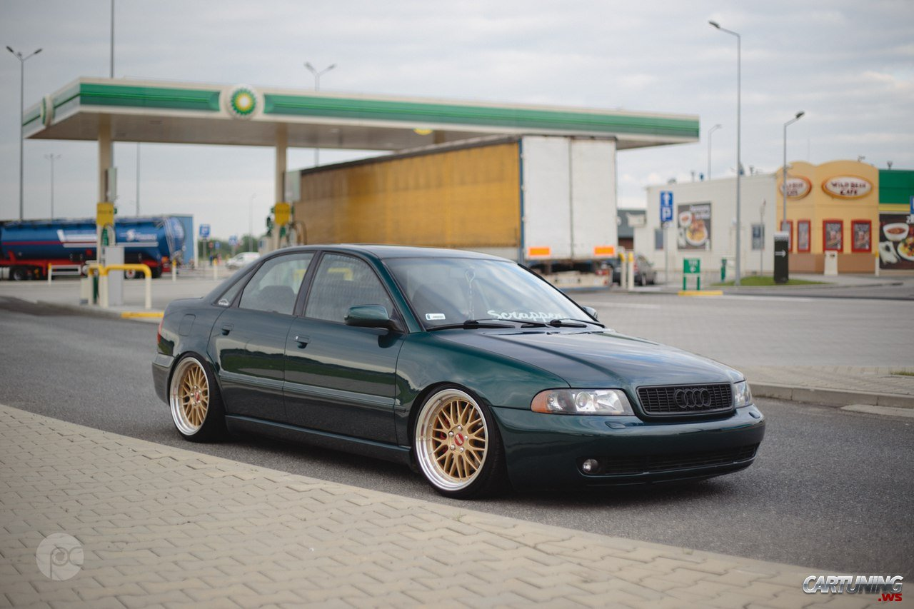 Low Audi A4 B5 With True Fitment