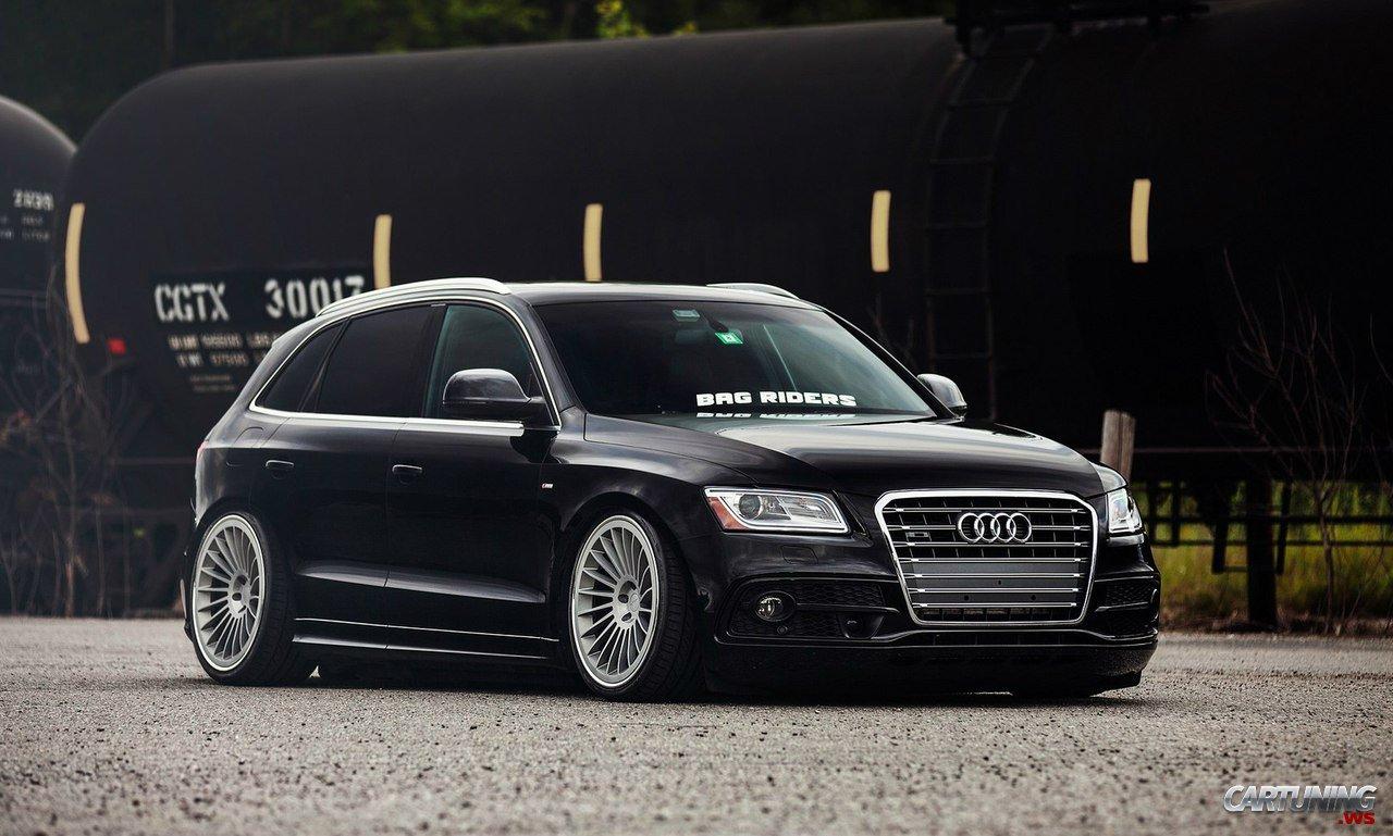 Stanced Audi Q5