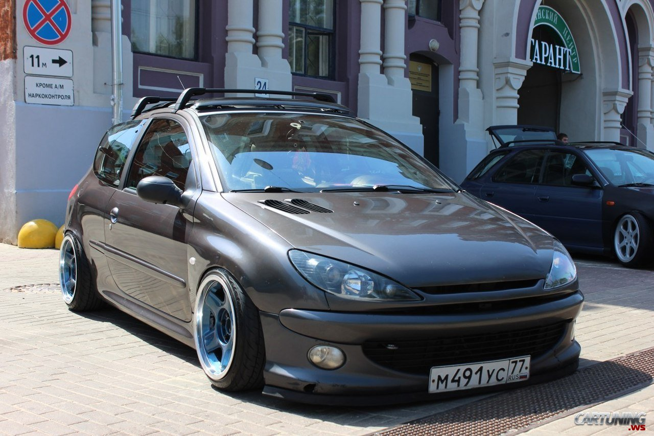 Tuning Peugeot 206 187 Cartuning Best Car Tuning Photos