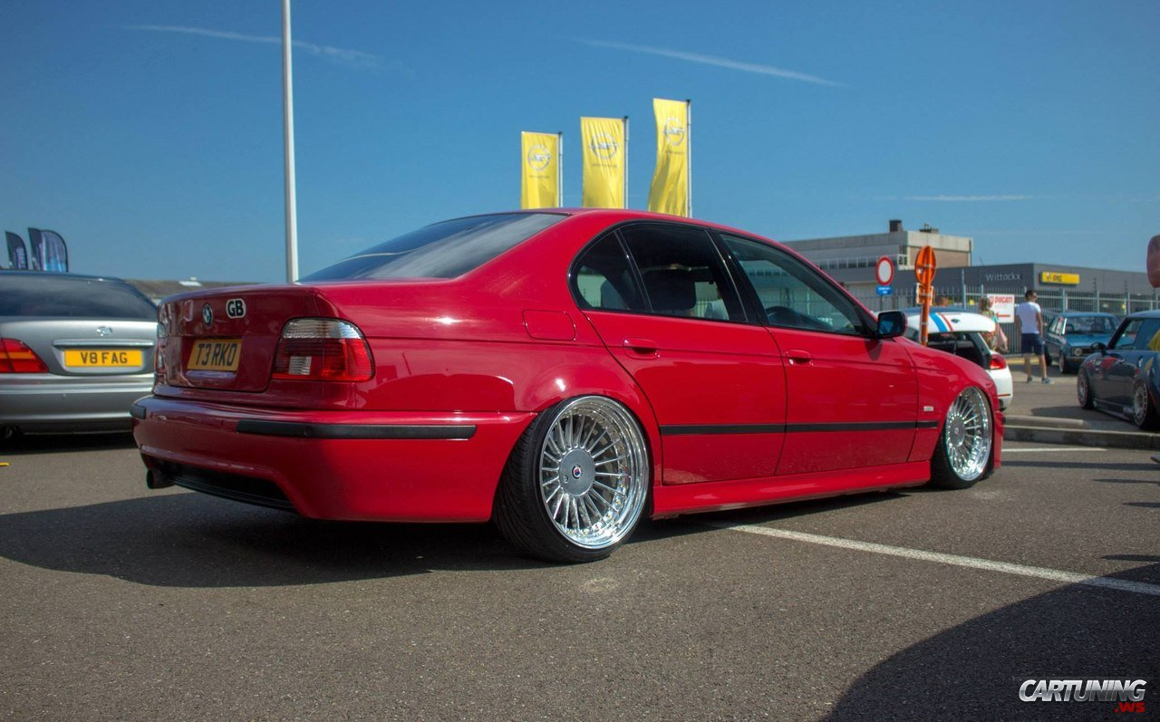 Stanced Bmw 5 E39 187 Cartuning Best Car Tuning Photos