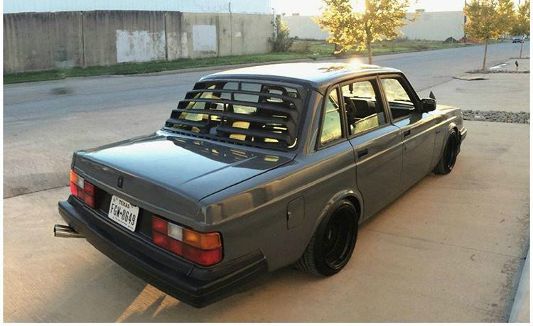 Tuning Volvo 240 187 Cartuning Best Car Tuning Photos From