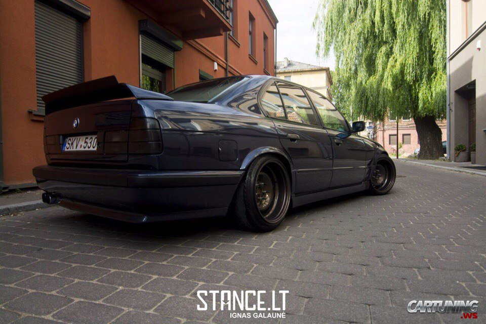 Tuning Bmw 530i E34 187 Cartuning Best Car Tuning Photos