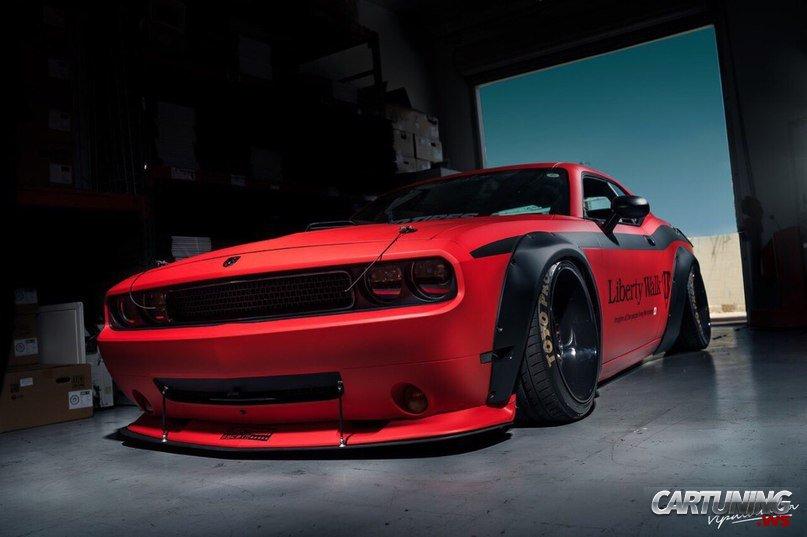 Low Dodge Challenger