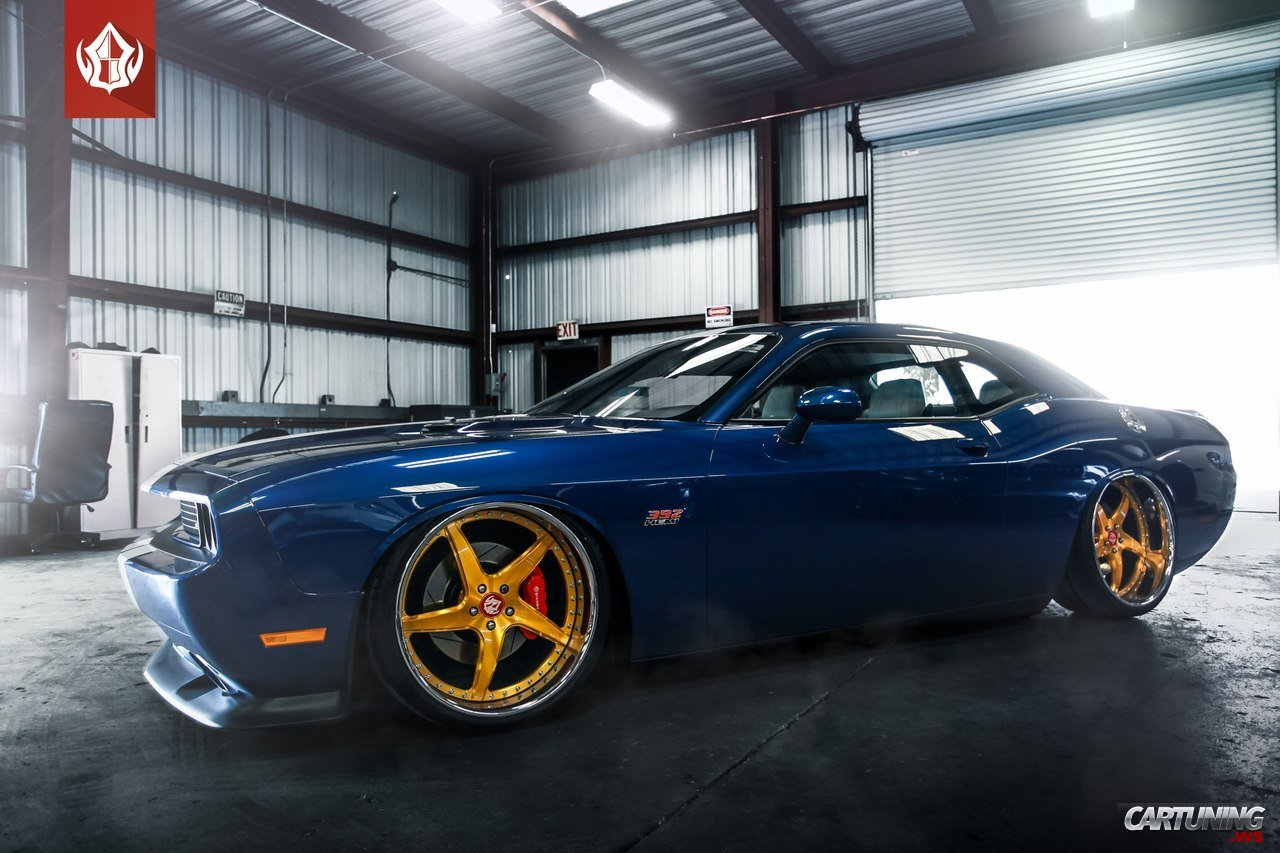 Dodge Challenger Hellcat Blue >> Tuning Dodge Challenger » CarTuning - Best Car Tuning Photos From All The World