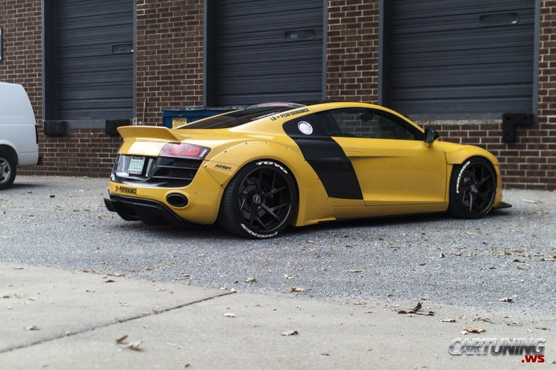 Tuning Audi R8 Cartuning Best Car Tuning Photos From All The World