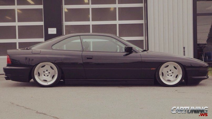 Stanced BMW 850