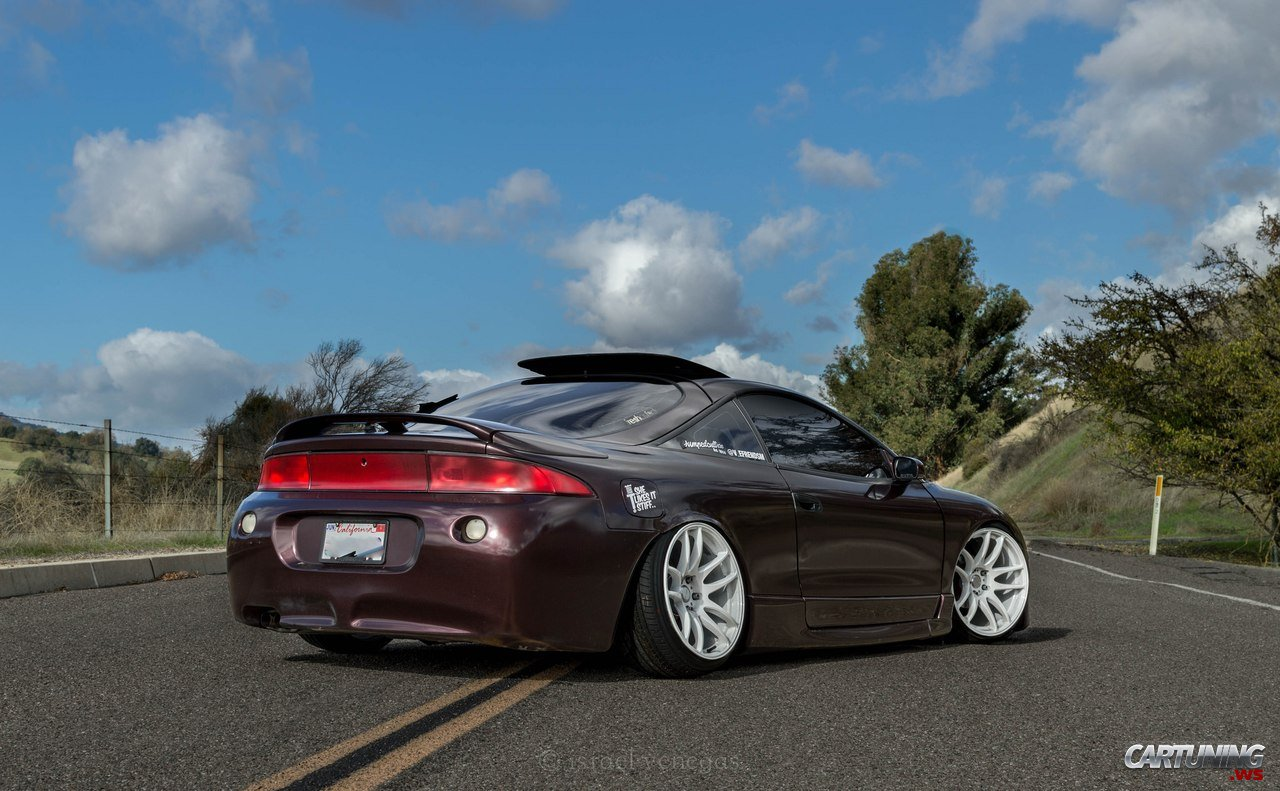 Stanced Mitsubishi Eclipse 187 Cartuning Best Car Tuning