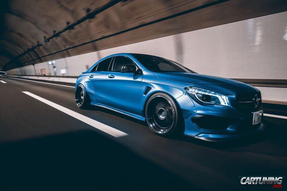 2016 Prius Body Kit >> Stanced Mercedes-Benz CLA