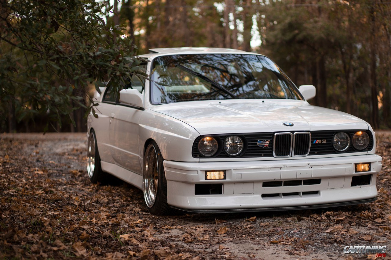 Low Bmw M3 E30 187 Cartuning Best Car Tuning Photos From