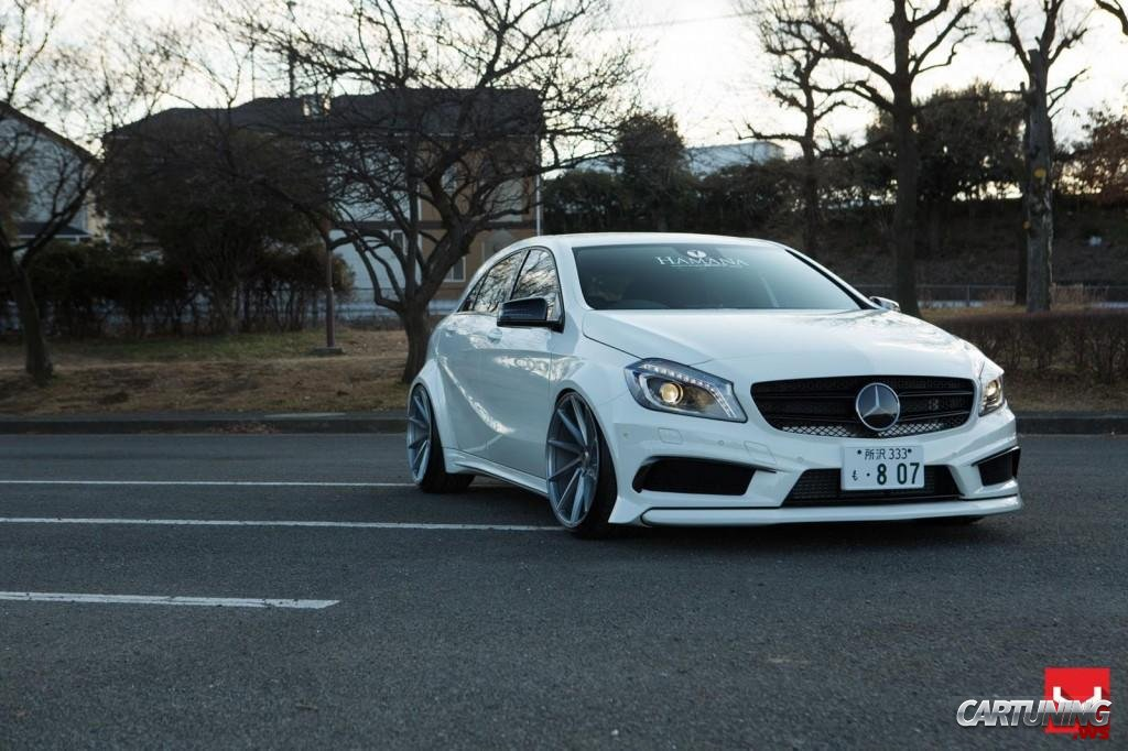 Tuning mercedes benz a45 amg w176 for Mercedes benz tuning