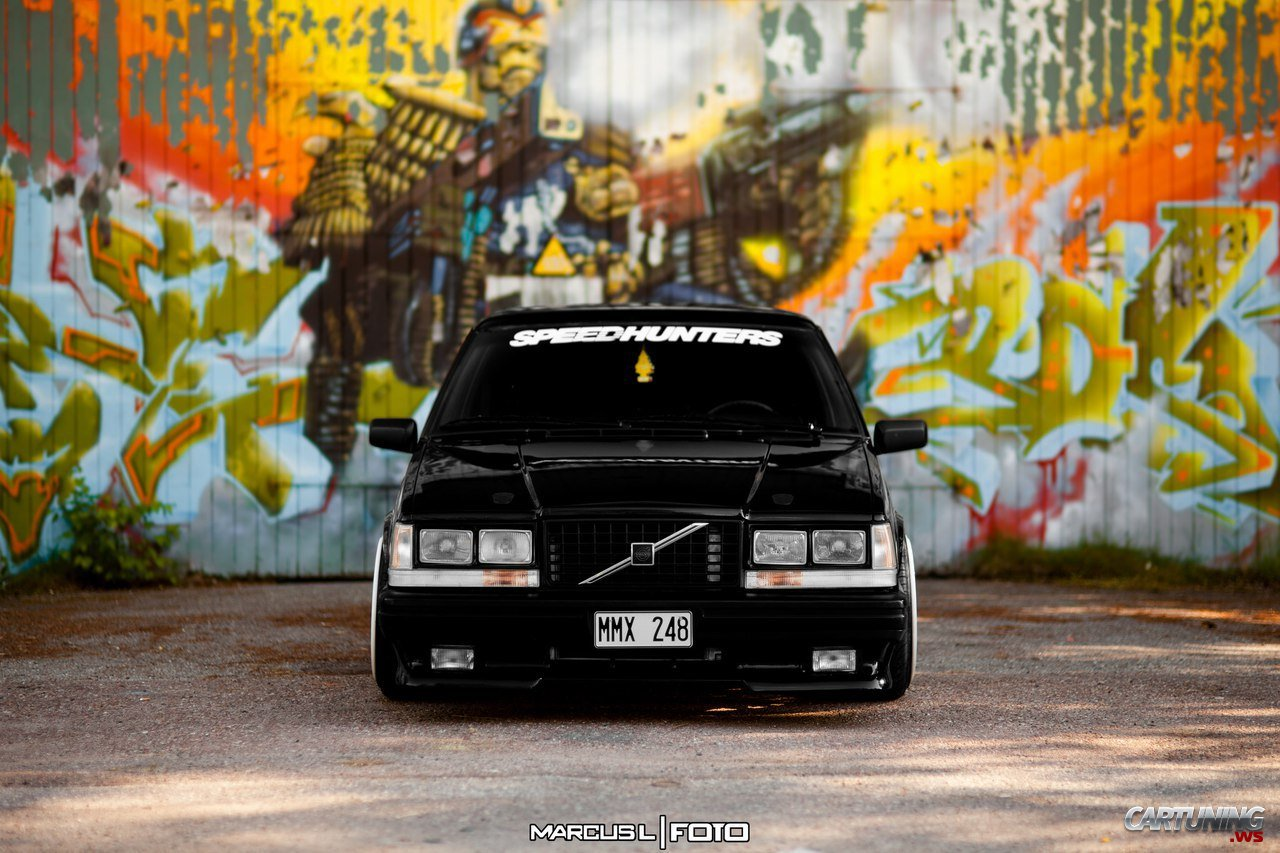 Low Volvo 740 » CarTuning - Best Car Tuning Photos From All The World