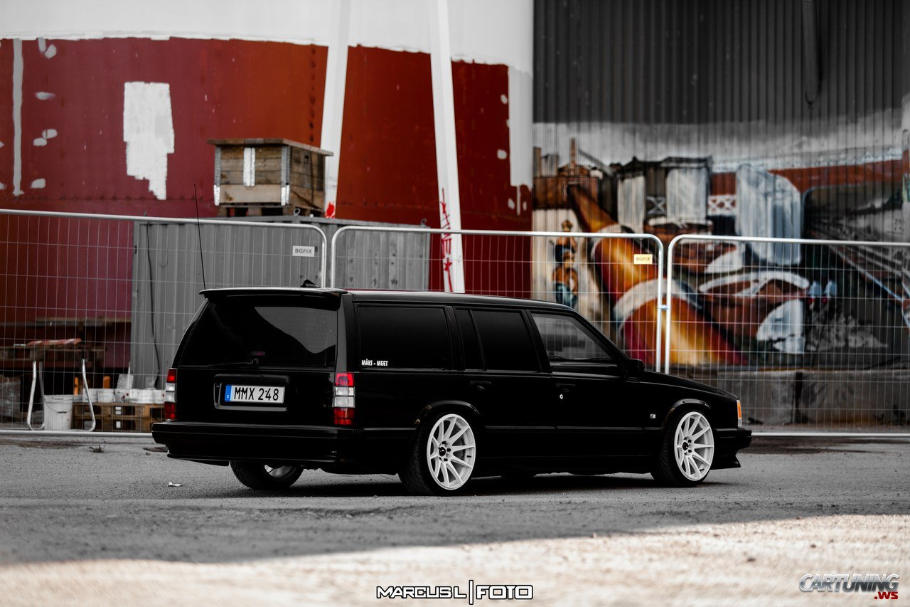 stanced volvo 740 cartuning best car tuning photos. Black Bedroom Furniture Sets. Home Design Ideas
