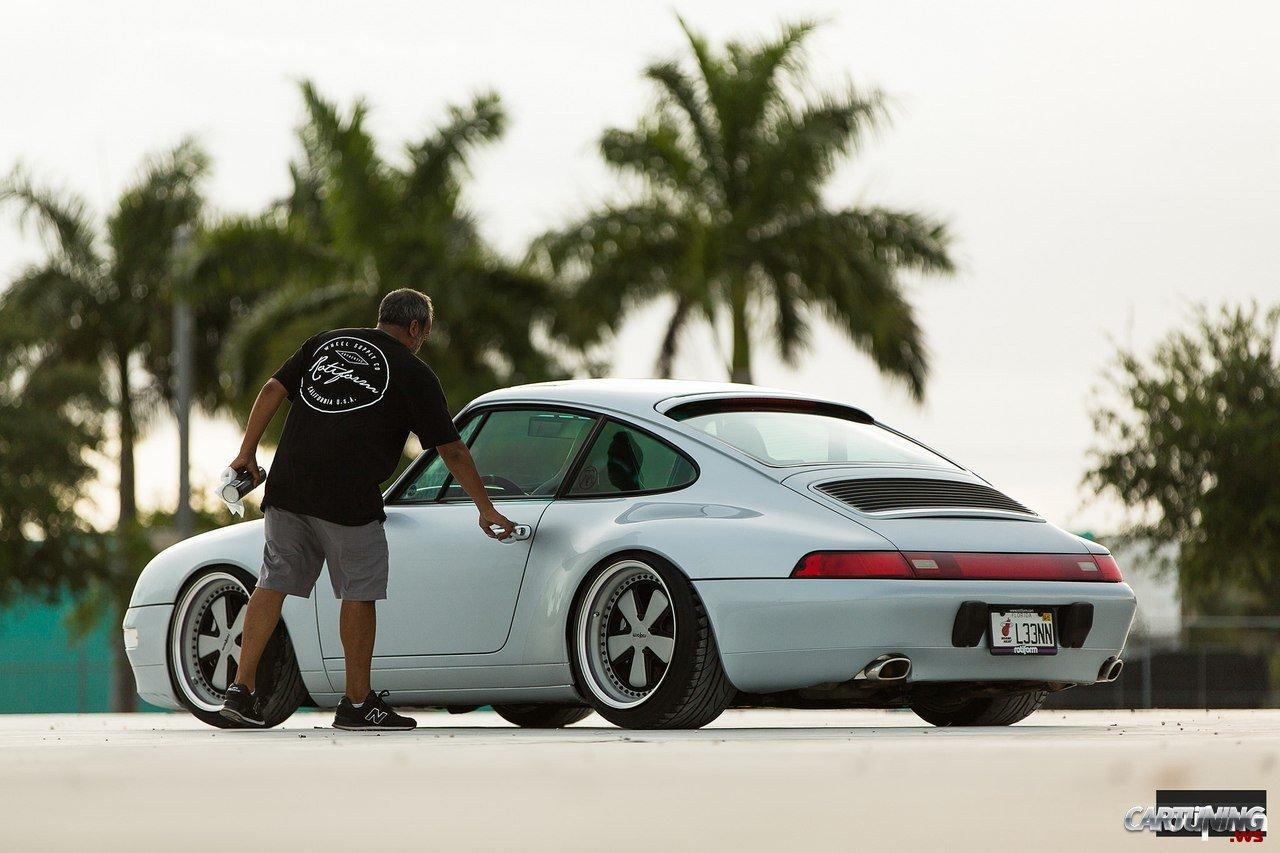 Tuning Porsche 911 993