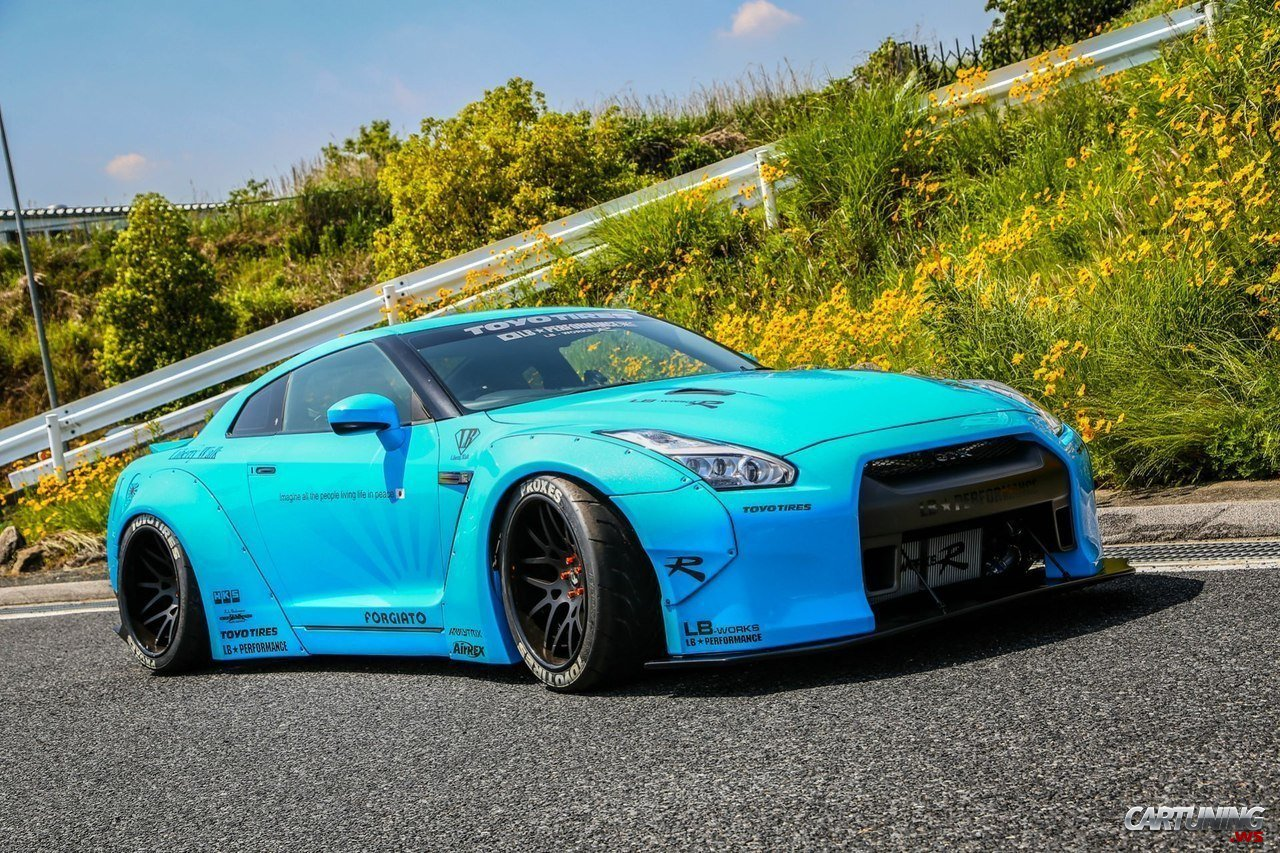 Stanced Nissan GTR » CarTuning - Best Car Tuning Photos ...