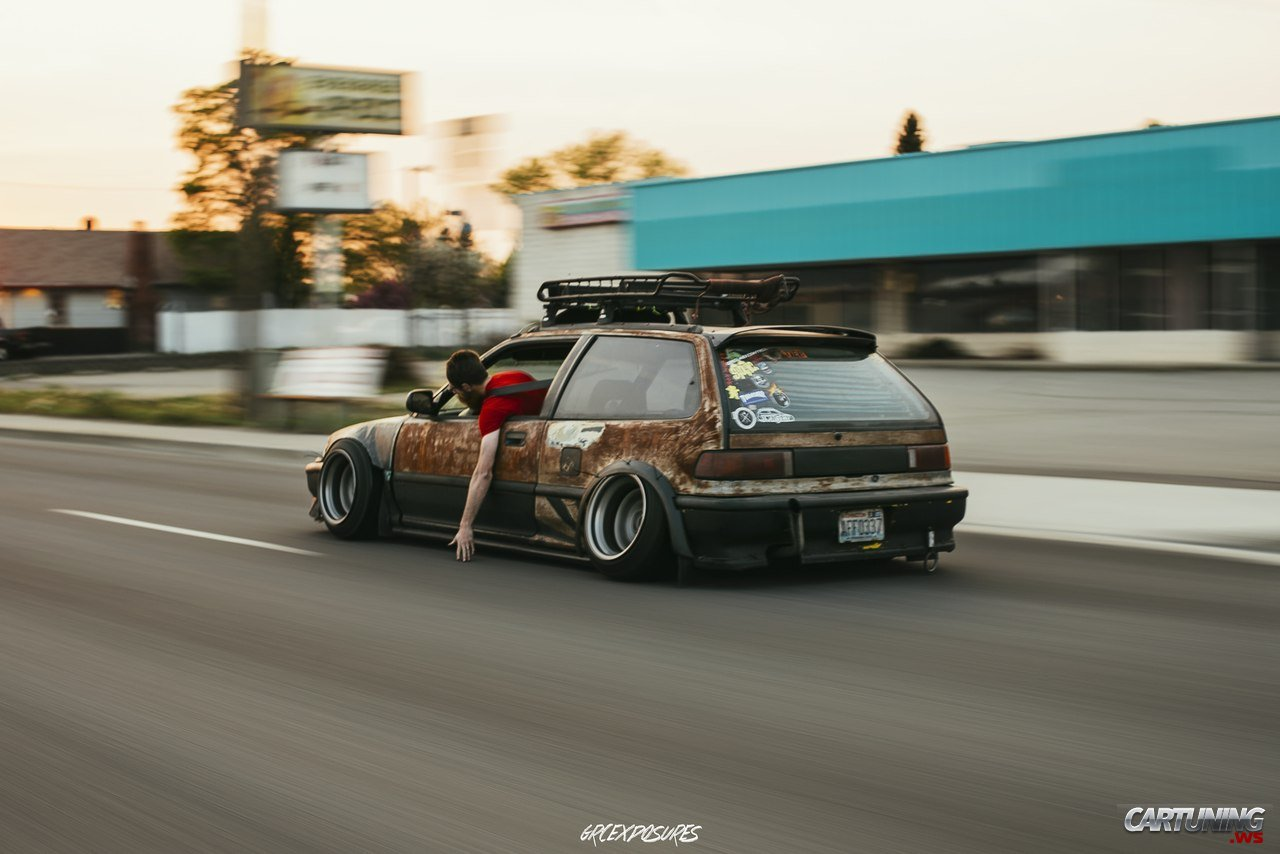 Low Honda Civic Ed