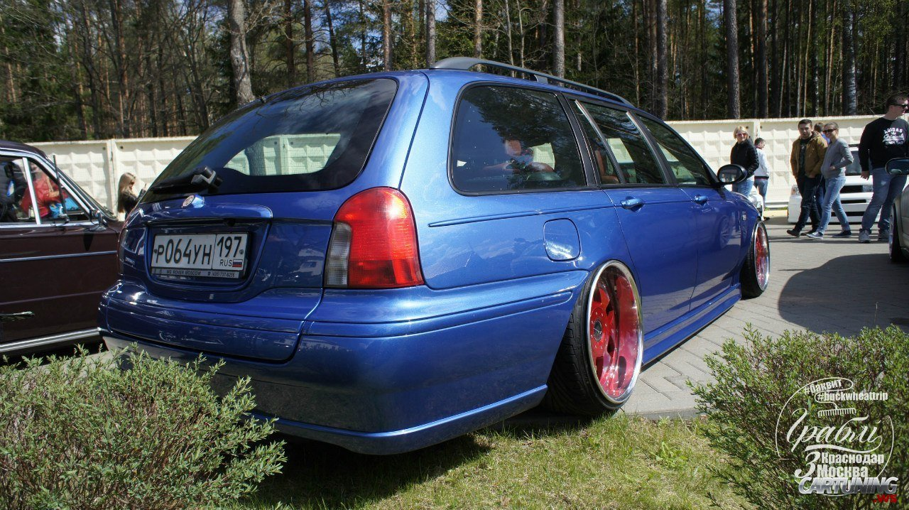 Low Rover 75 Wagon 187 Cartuning Best Car Tuning Photos