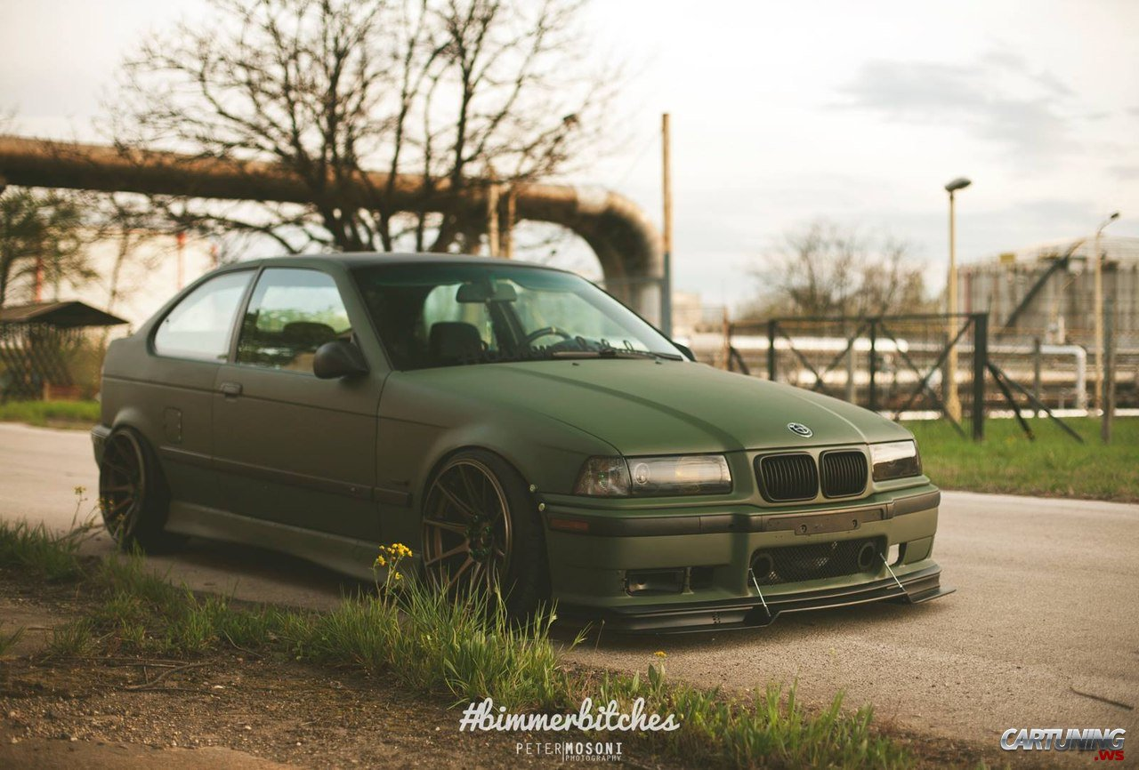 stanced bmw 3 compact e36. Black Bedroom Furniture Sets. Home Design Ideas