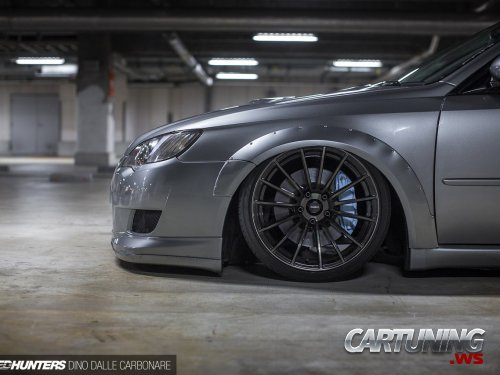 Stanced Subaru Legacy