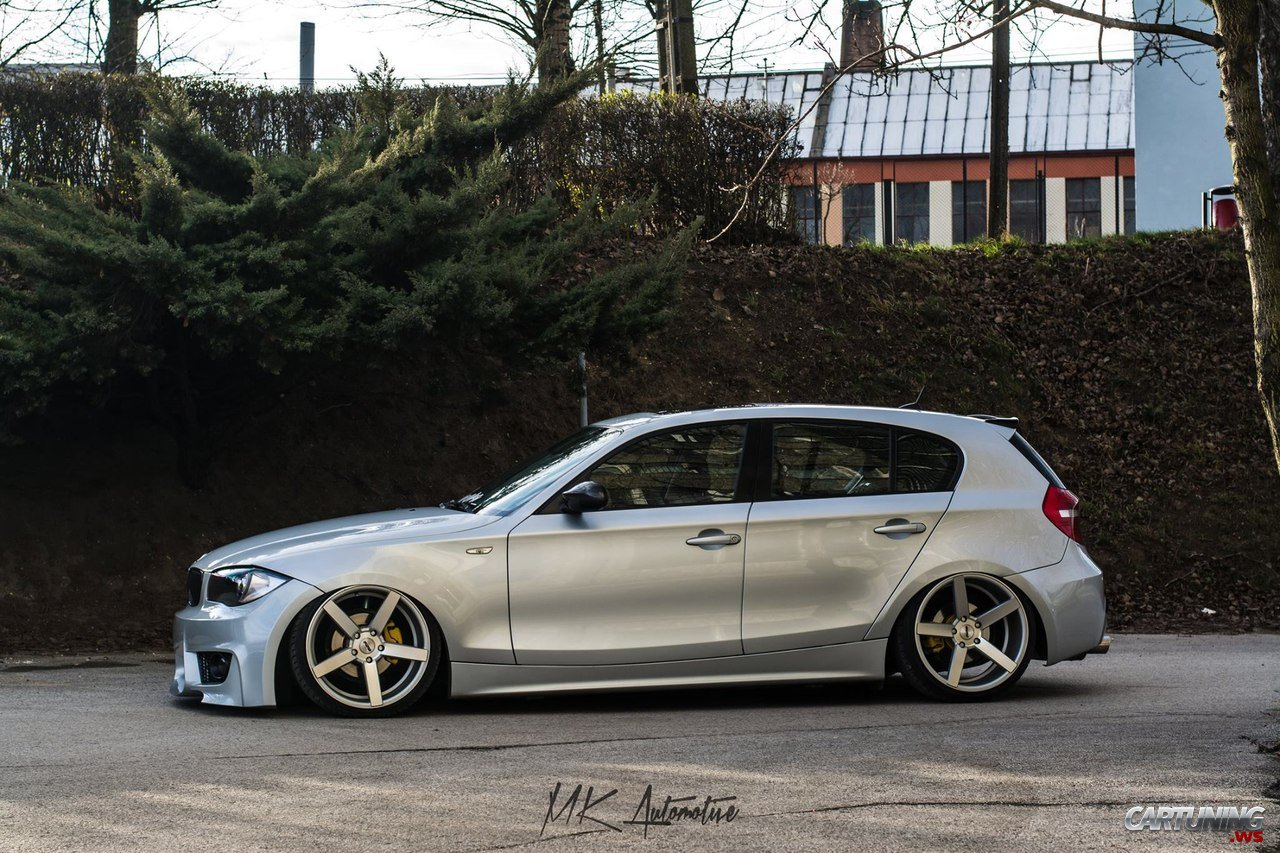stanced bmw 1 e87 cartuning best car tuning photos. Black Bedroom Furniture Sets. Home Design Ideas