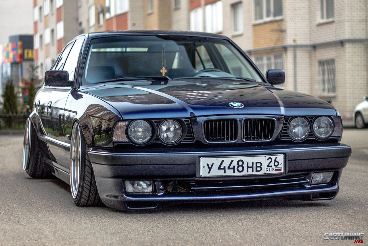 low bmw 525i e34 cartuning best car tuning photos from all the world. Black Bedroom Furniture Sets. Home Design Ideas