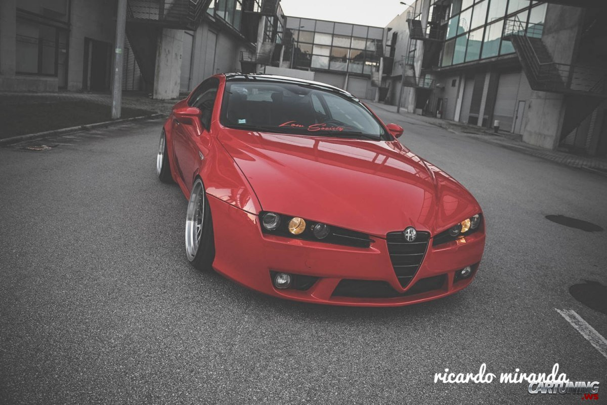 stanced alfa romeo brera. Black Bedroom Furniture Sets. Home Design Ideas