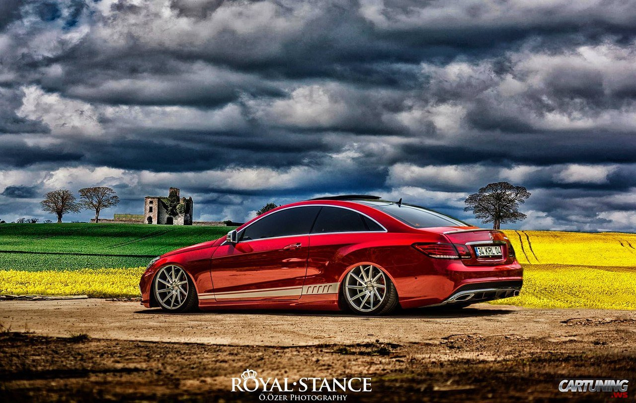 tuning mercedes benz e class coupe c207. Black Bedroom Furniture Sets. Home Design Ideas