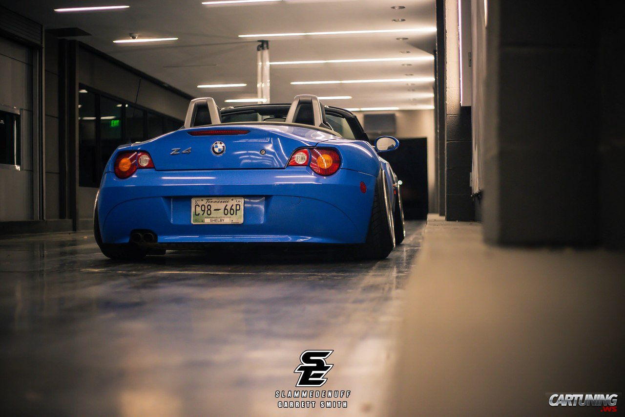 Stanced Bmw Z4 E85 187 Cartuning Best Car Tuning Photos