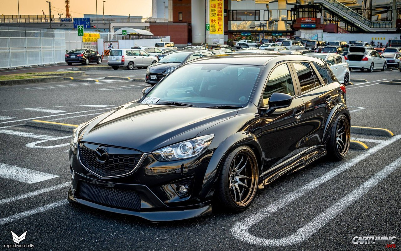 Stance Mazda Cx5 187 Cartuning Best Car Tuning Photos From