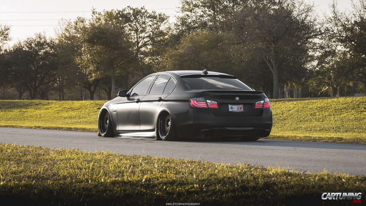 Stance BMW 5 F10 » CarTuning - Best Car Tuning Photos From ...