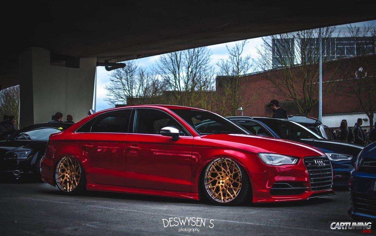Stance Audi S3 Sedan