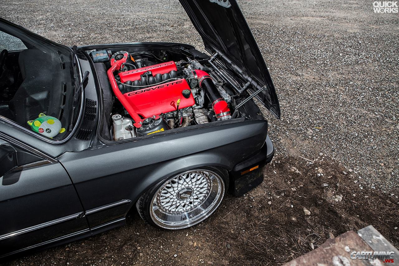 tuned bmw 3 e30 with swap v8 ls. Black Bedroom Furniture Sets. Home Design Ideas