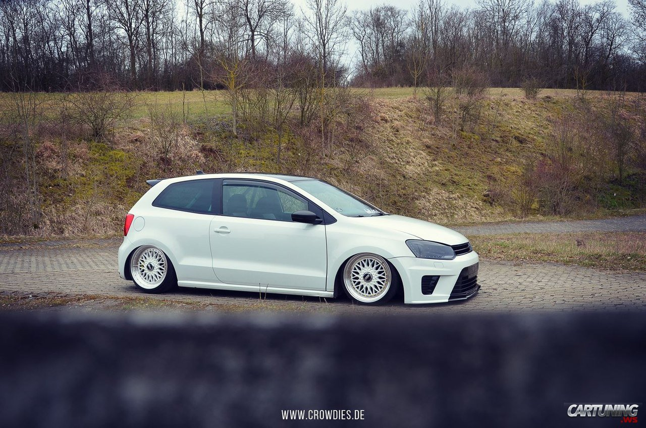 Stanced Volkswagen Polo Mk5 187 Cartuning Best Car Tuning