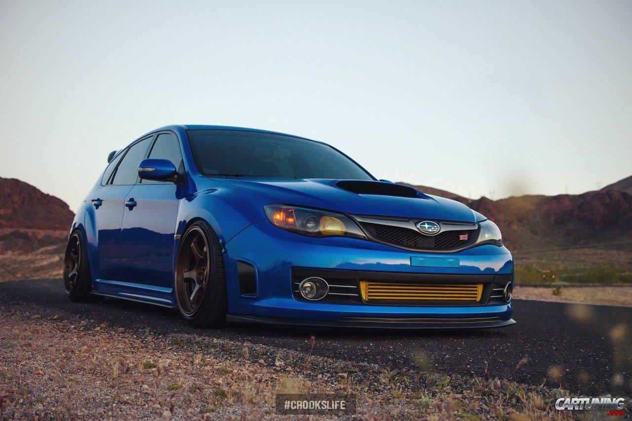 Stance Subaru Impreza Wrx Sti