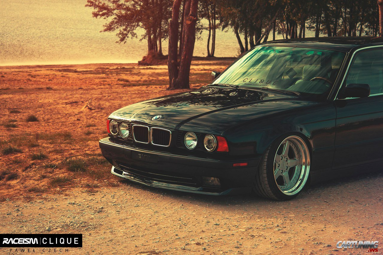 Stance Bmw 525i Touring E34 187 Cartuning Best Car Tuning