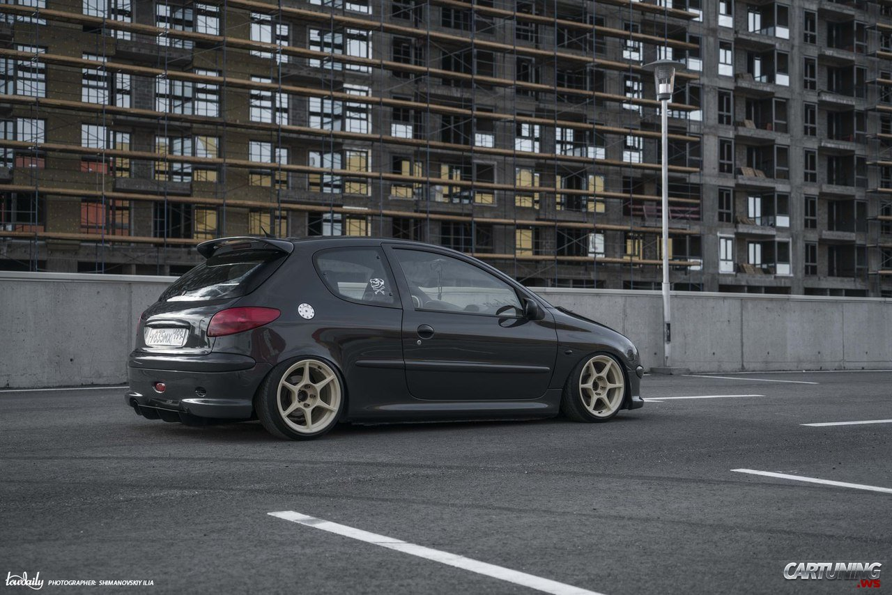 Stance Peugeot 206 187 Cartuning Best Car Tuning Photos