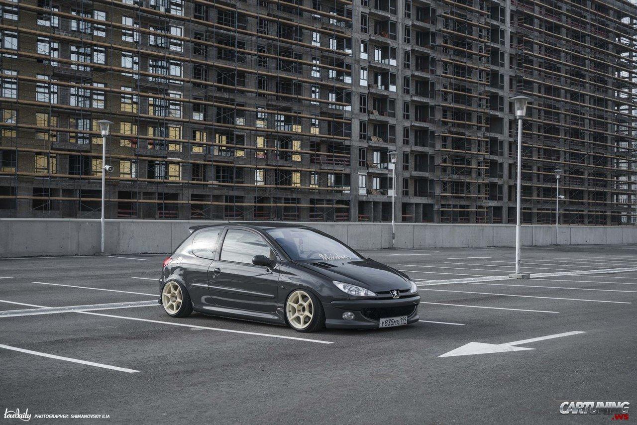 Stance Peugeot 206