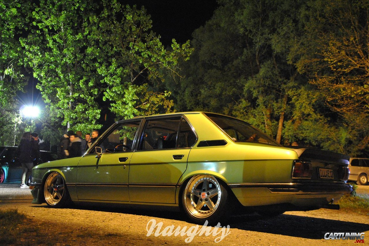 Stanced Bmw 525 E12 187 Cartuning Best Car Tuning Photos