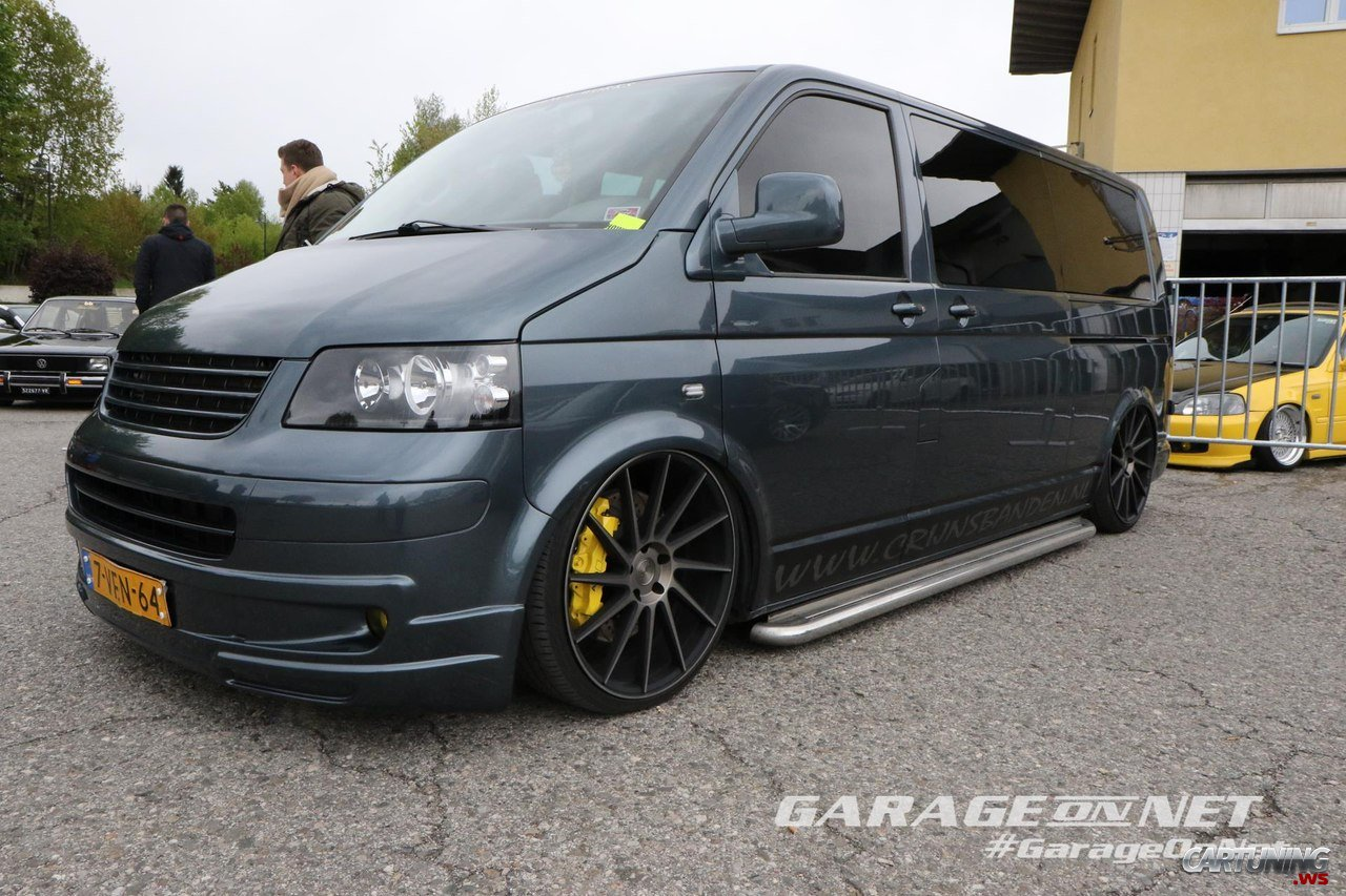 stanced volkswagen transporter t5 cartuning best car tuning photos from all the world. Black Bedroom Furniture Sets. Home Design Ideas