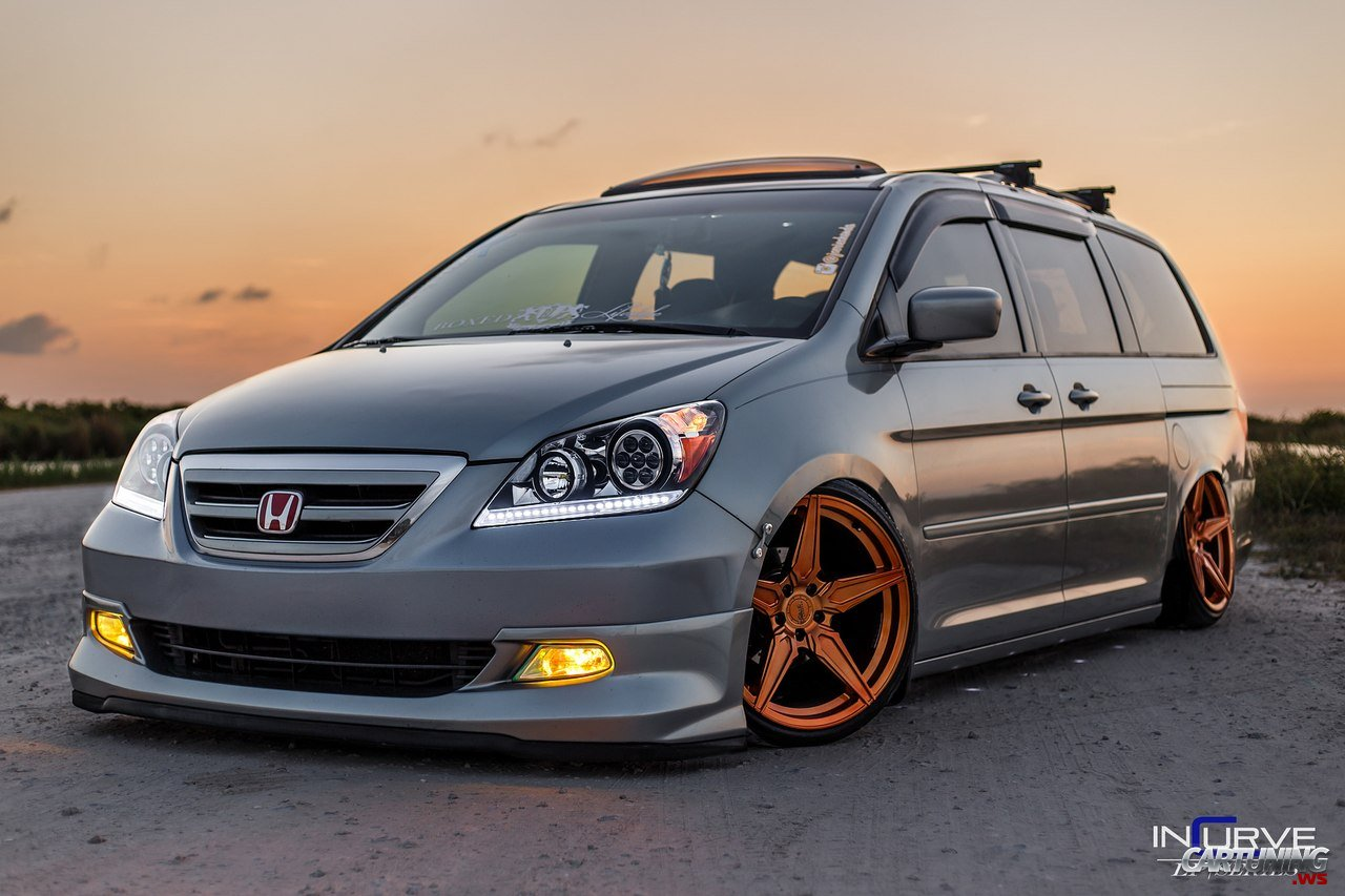 stanced honda odyssey. Black Bedroom Furniture Sets. Home Design Ideas