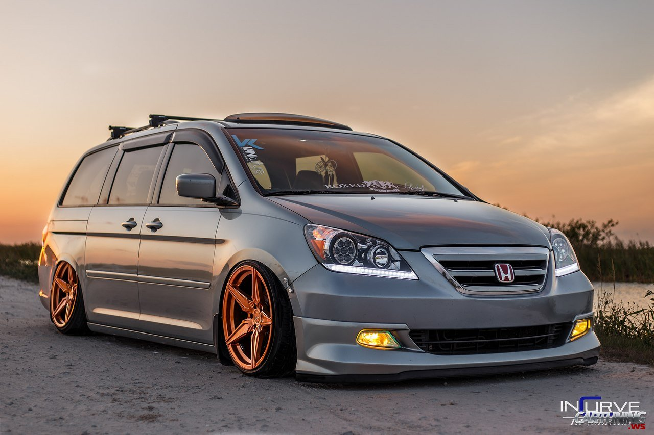 stanced honda odyssey cartuning best car tuning photos from all the world. Black Bedroom Furniture Sets. Home Design Ideas