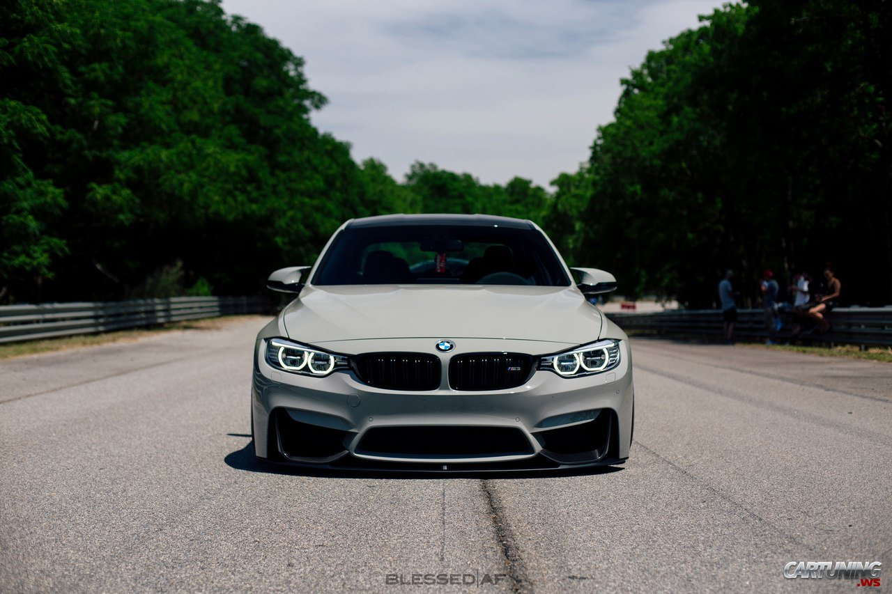 Stance Bmw M3 F30 Front View