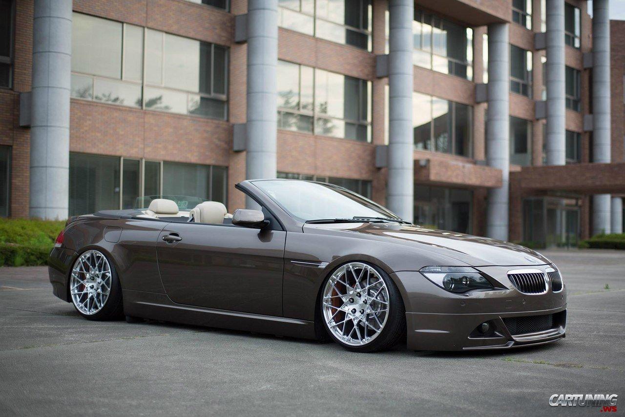 Stance BMW I Cabrio E - 645i bmw