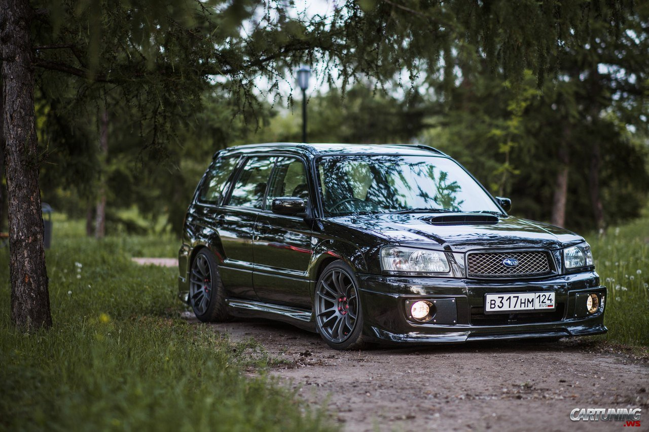 Stanced 99 forester