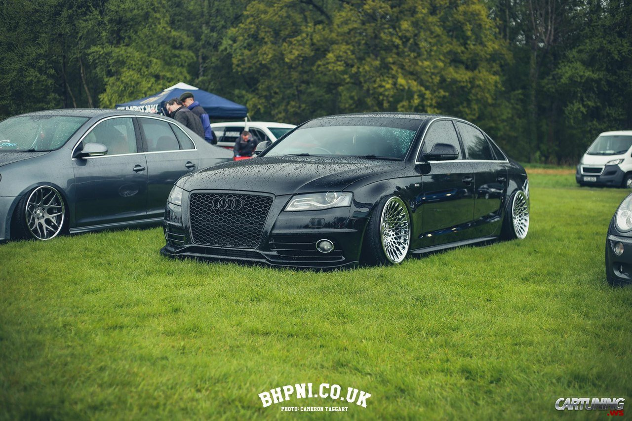 stanced audi a4 b8 cartuning best car tuning photos. Black Bedroom Furniture Sets. Home Design Ideas