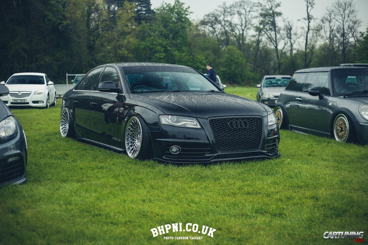 Stanced Audi A4 B8 187 Cartuning Best Car Tuning Photos