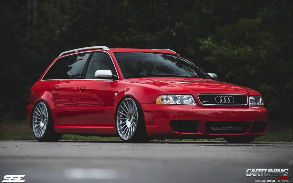 Stanced Audi Rs4 B5 187 Cartuning Best Car Tuning Photos