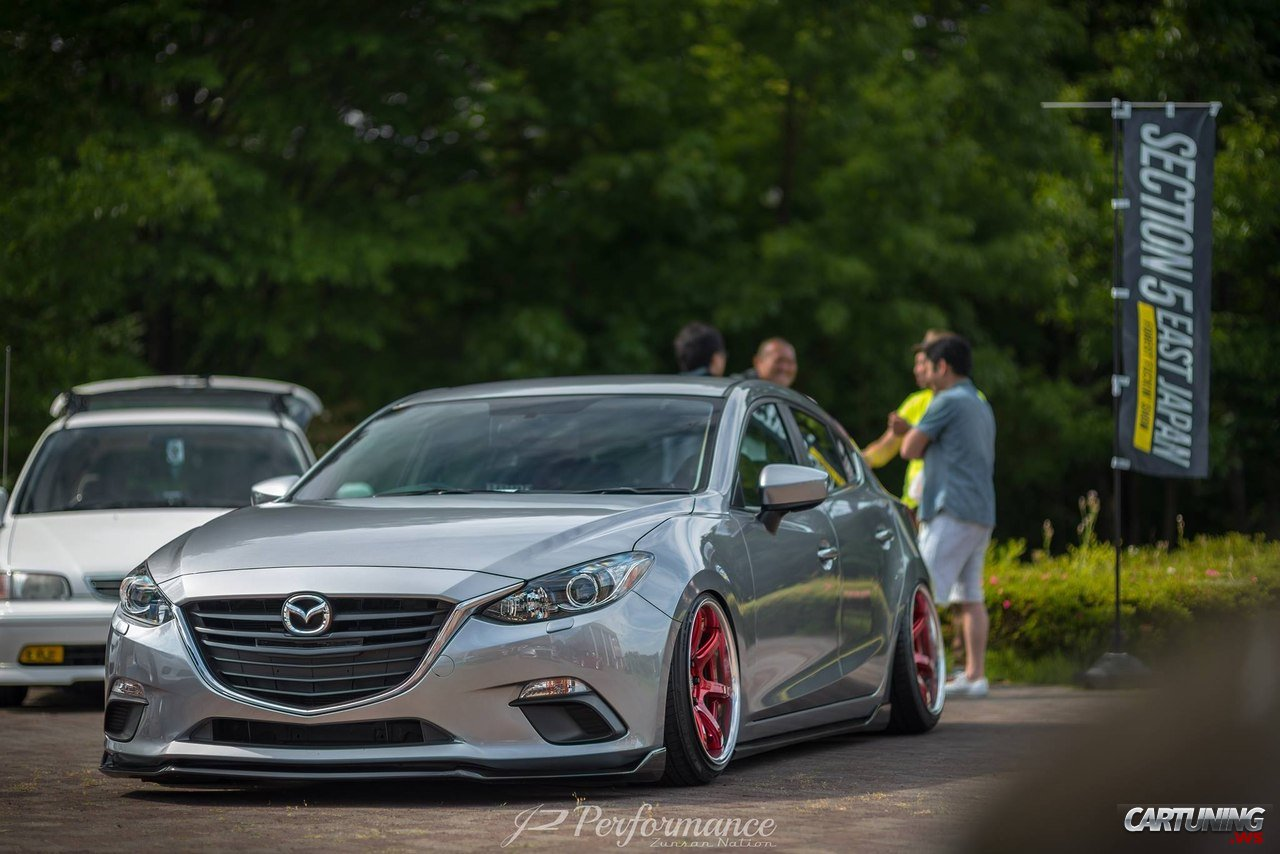 Stanced Mazda3 2016 Front