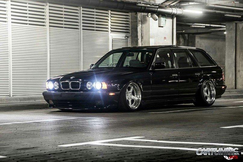 Lowered Bmw 525i Touring E34